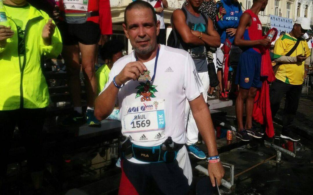"""Raúl Miguel García: """"Correr me hace sentir libre y vivo"""""""